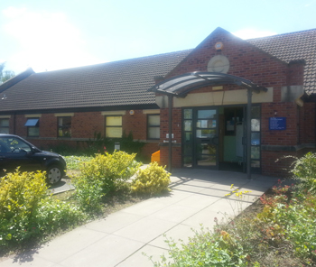 Photo of the New Coningsby surgery building